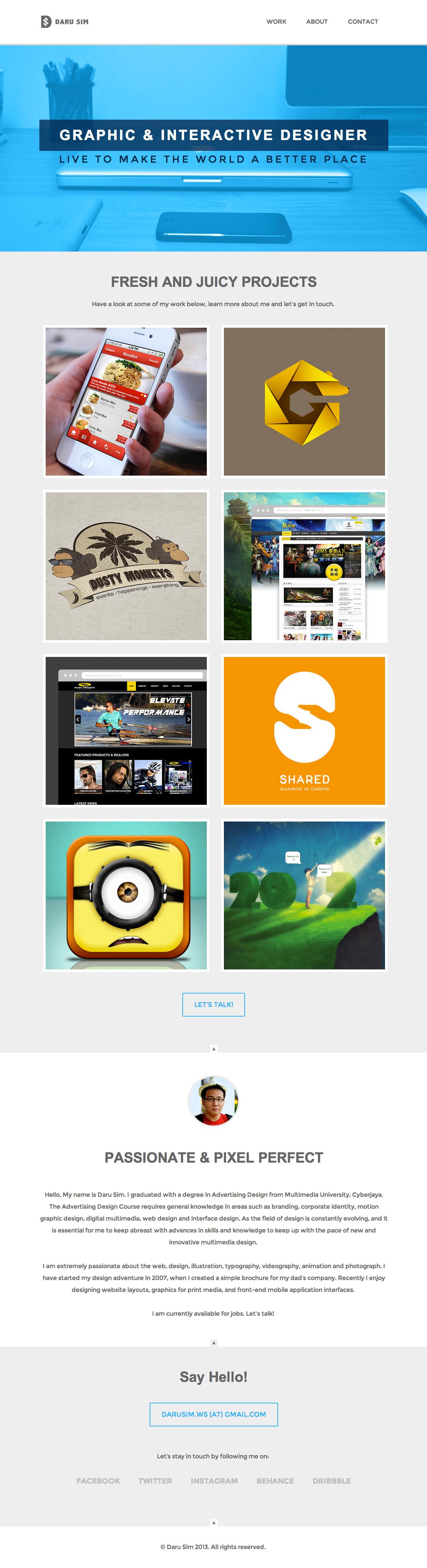 Daru Sim Website Screenshot