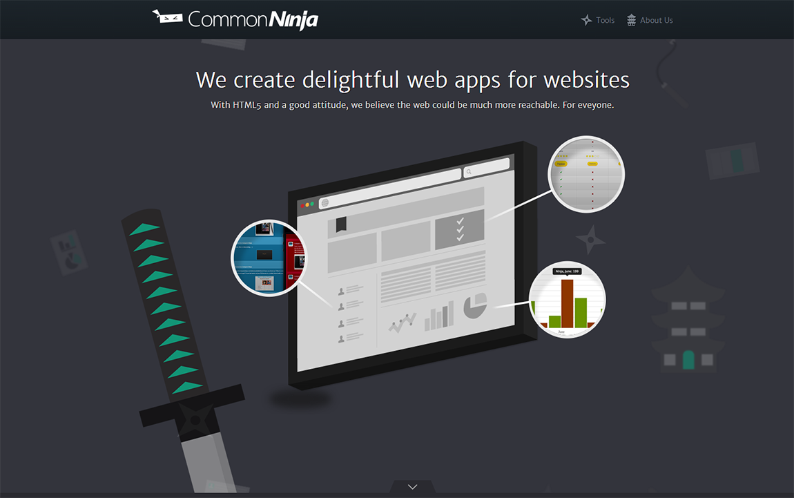 Common Ninja Website Screenshot