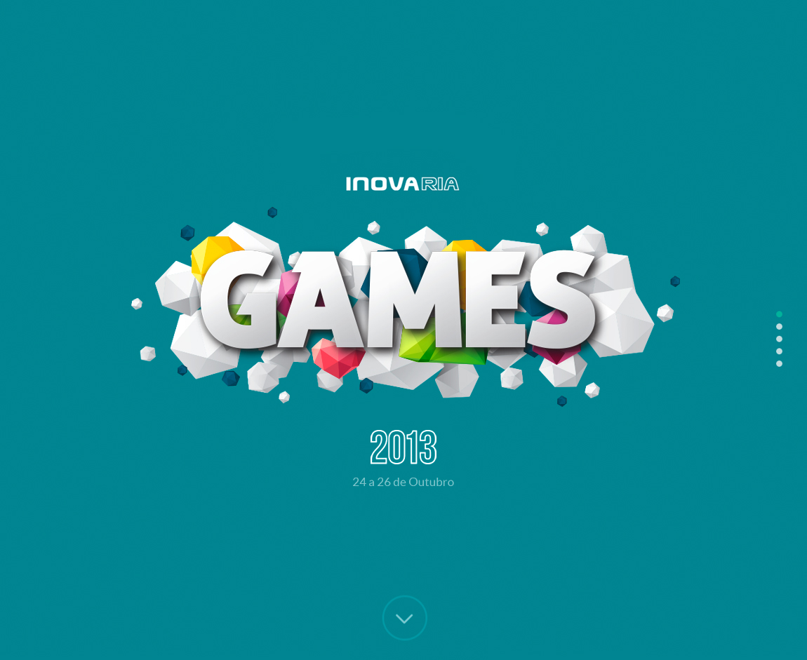IRGames 2013 Website Screenshot
