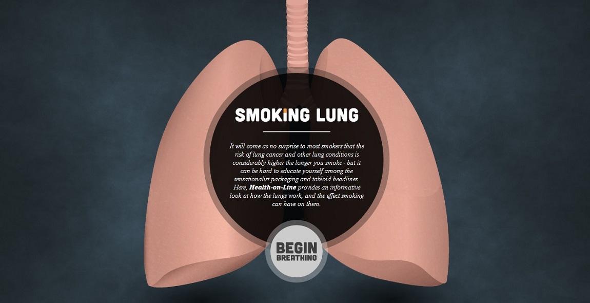 Smoking Lung Website Screenshot