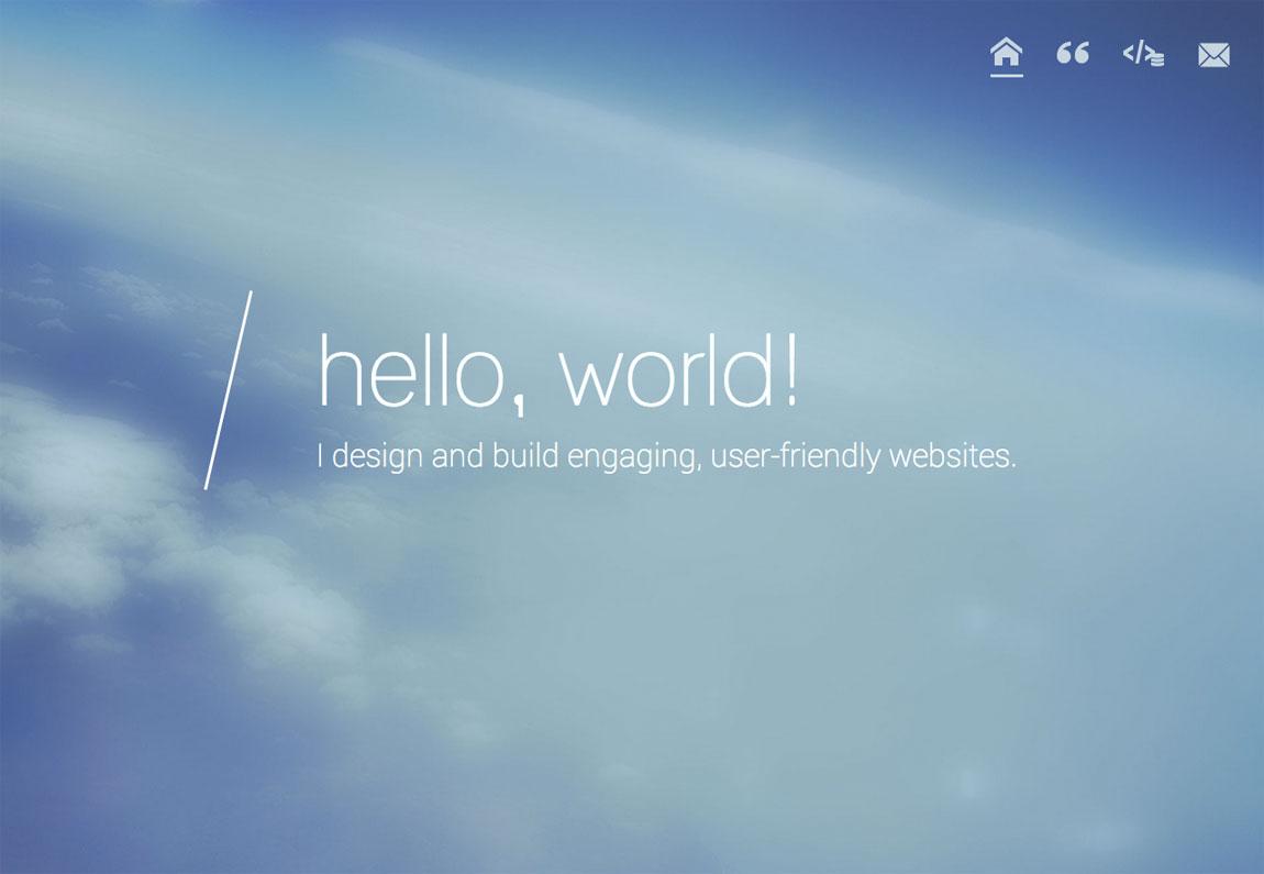 Alicia Harris Website Screenshot