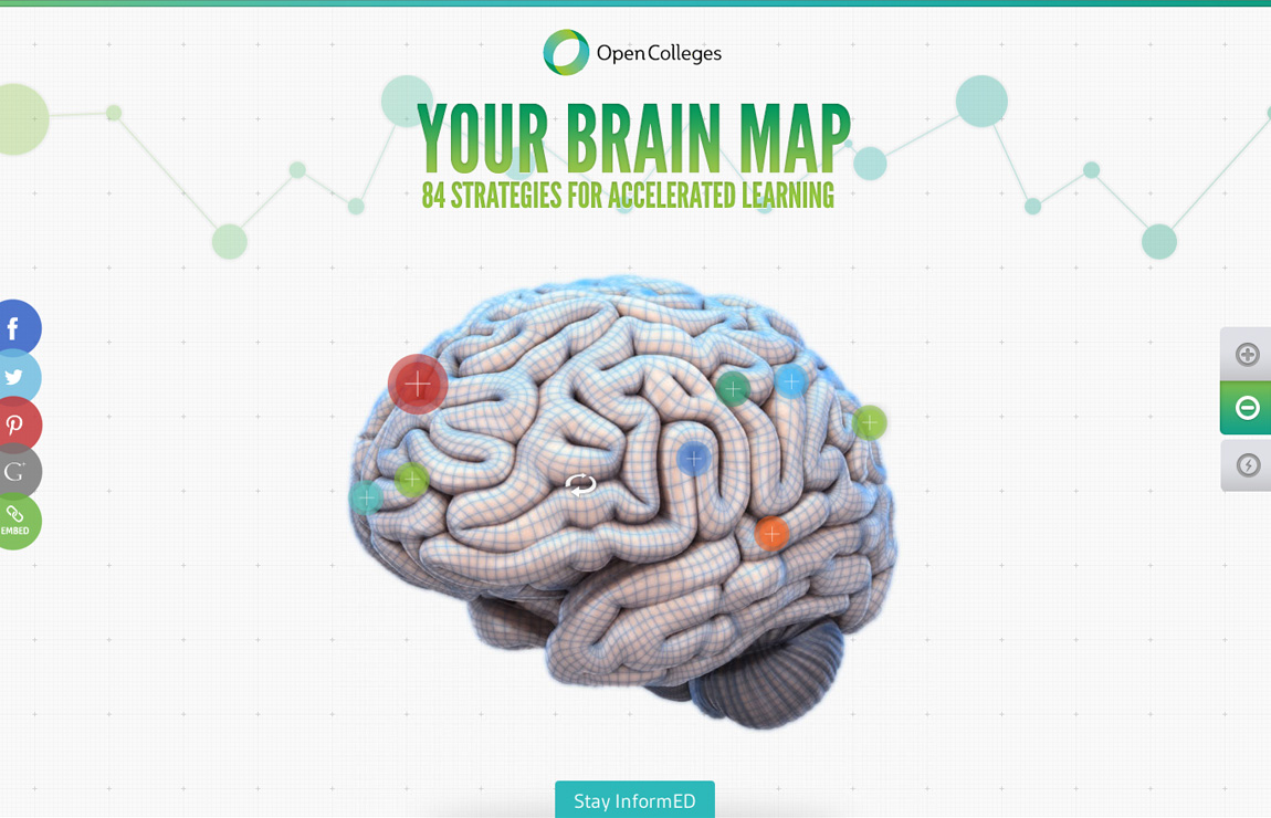 Your Brain Map Website Screenshot