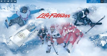Life Fitness at the Sochi 2014 Winter Olympics Thumbnail Preview