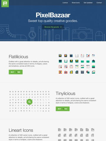 Pixel Bazaar Thumbnail Preview