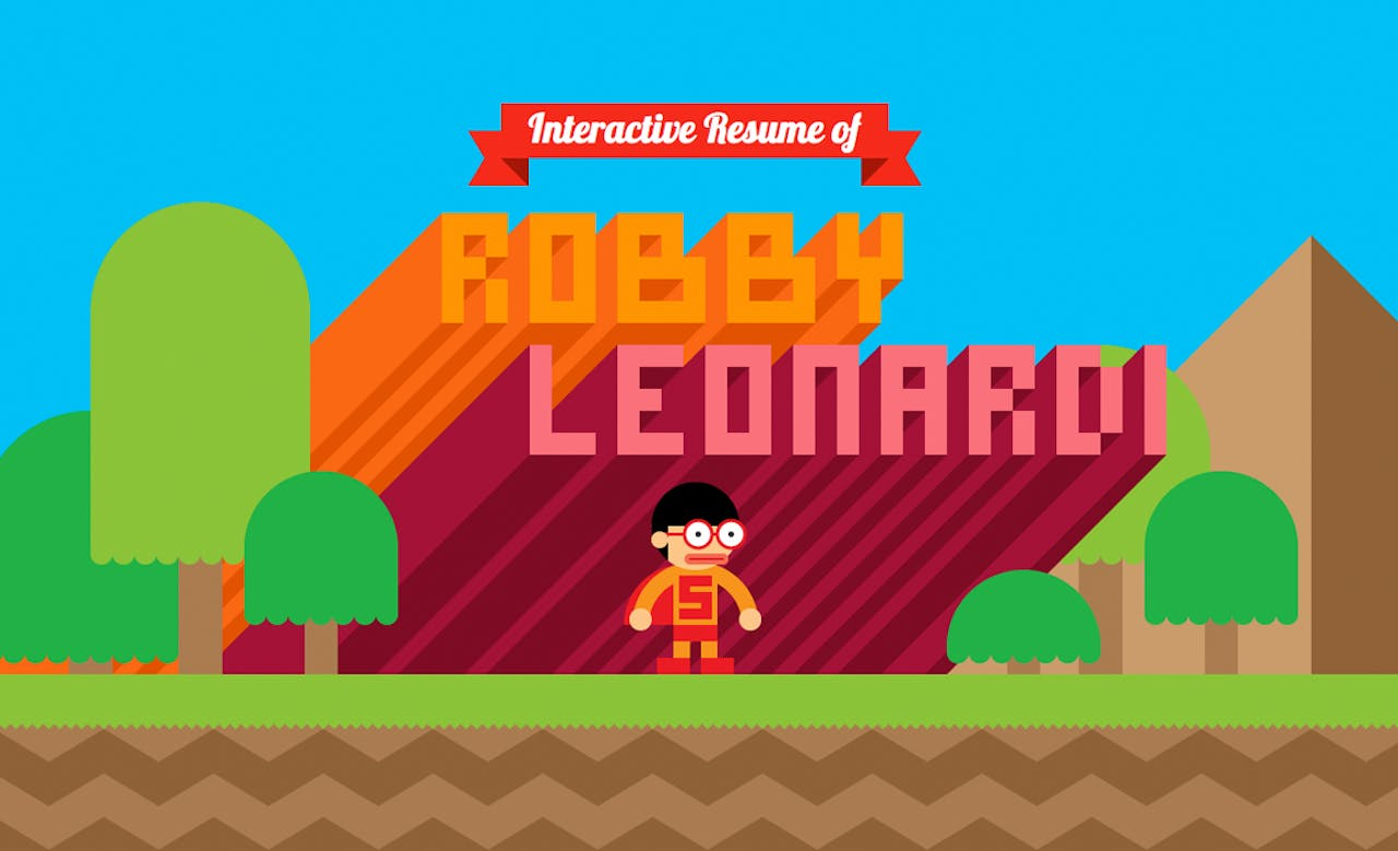 Robby Leonardi Website Screenshot