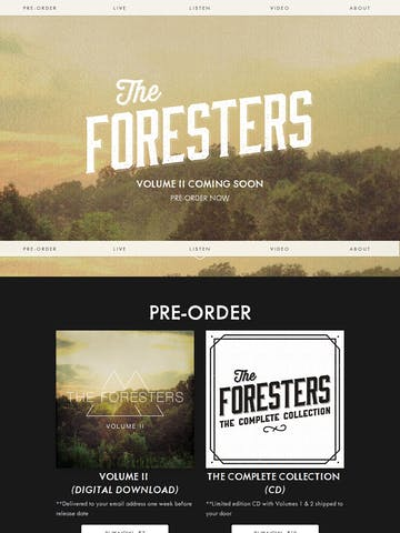 The Foresters Thumbnail Preview