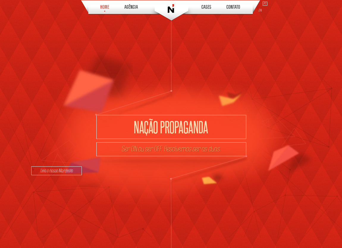 Nação Propaganda Website Screenshot