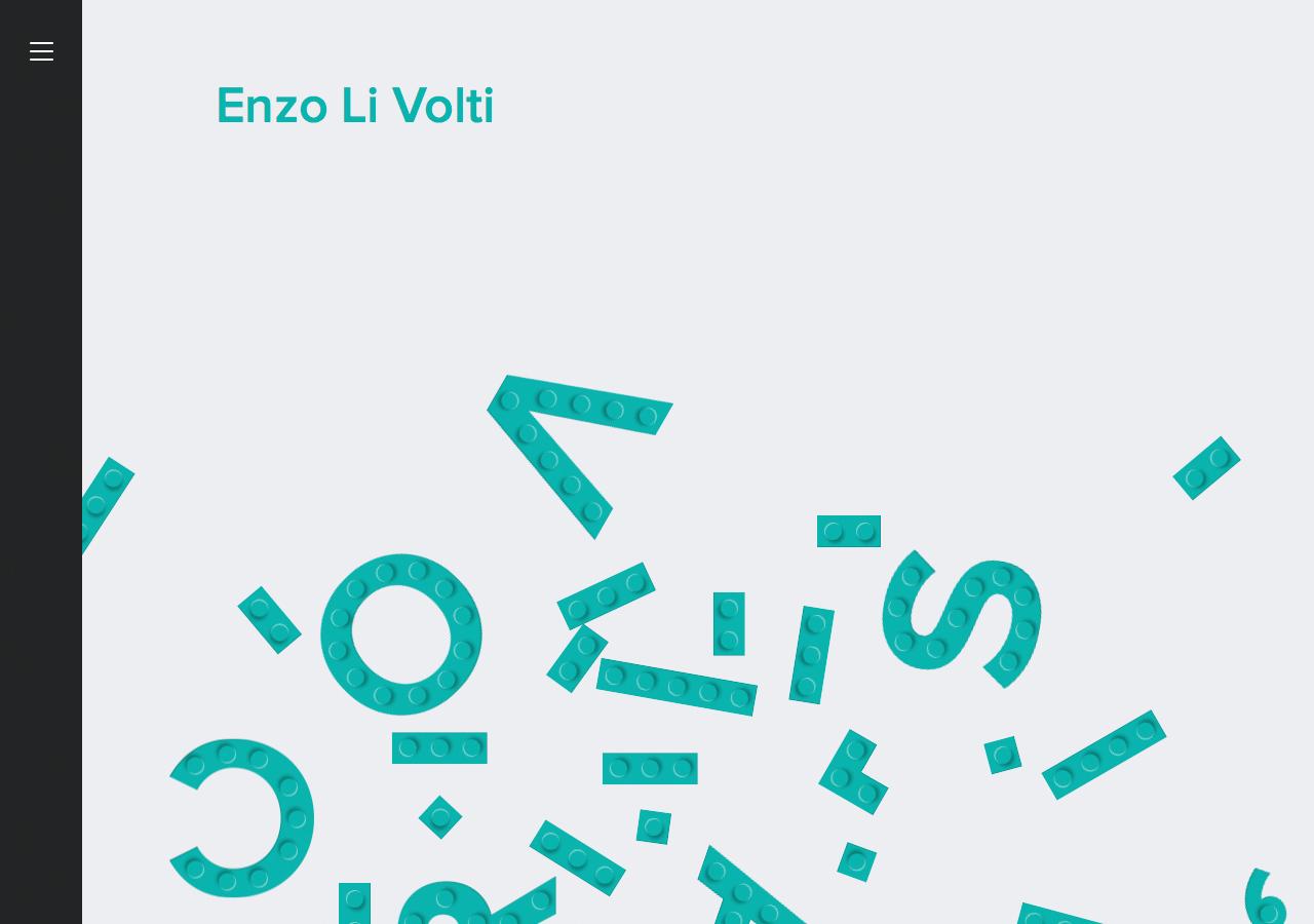 Enzo Li Volti Website Screenshot