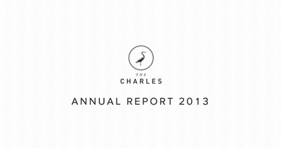 The Charles NYC Annual Report 2013 Thumbnail Preview