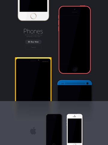 Phones Thumbnail Preview