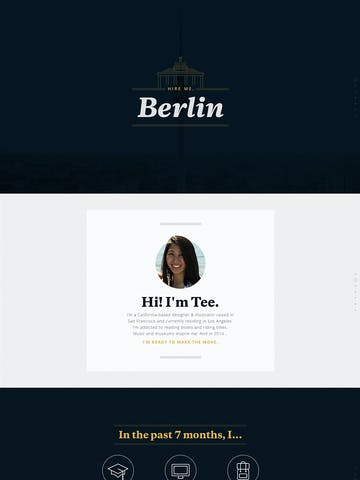 Hire Me, Berlin Thumbnail Preview