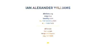 Ian Willia.ms Thumbnail Preview