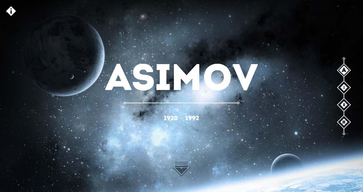 Asimov – Les lois de la robotique Website Screenshot