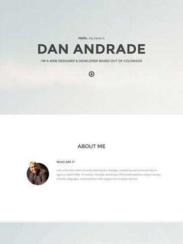 Dan Andrade Thumbnail Preview
