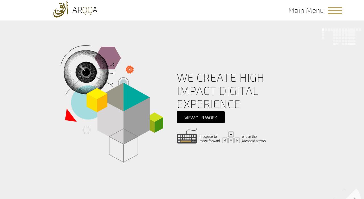 Arqqa Website Screenshot