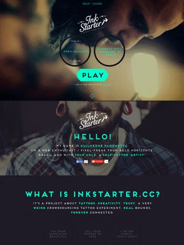 InkStarter Thumbnail Preview