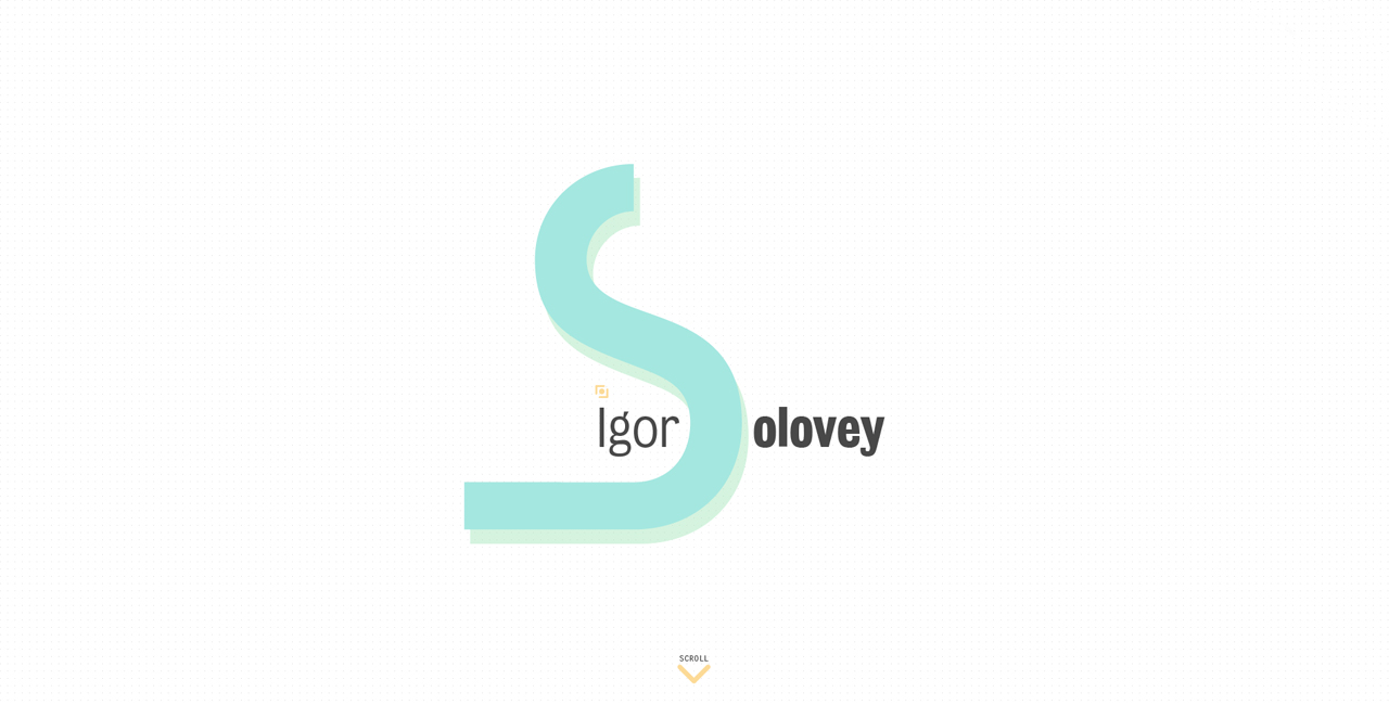 Igor Solovey Website Screenshot