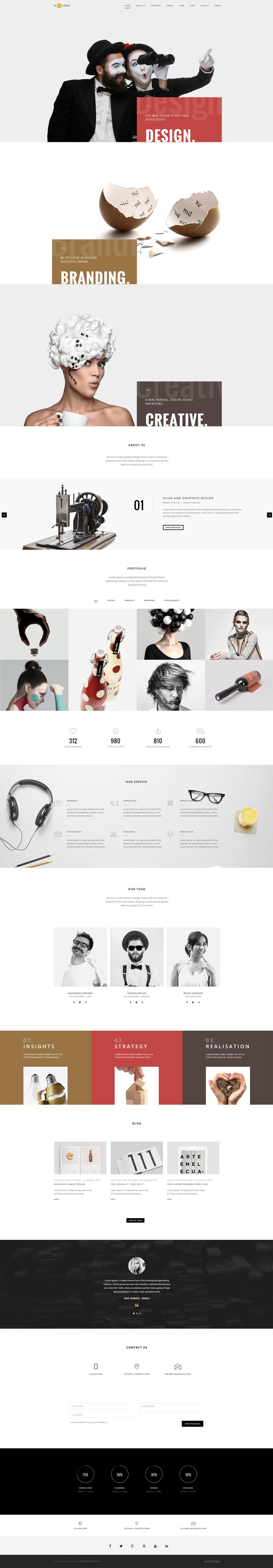 H-Code Website Screenshot